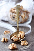 Chritmas iced walnuts
