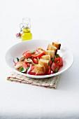 Panzanella (italienischer Brotsalat) mal anders