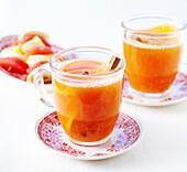 Cinnamon-flavored citrus fruit vitatmin toddy