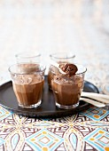 Pupil's chocolate mousse