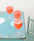 Hibiscus flower chic cocktail