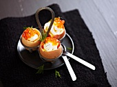 Surprise salmon roe eggs