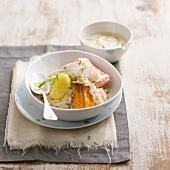 Fish sauerkraute