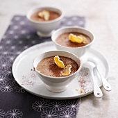 Chocolate and ginger mousse