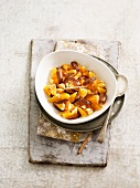 Date and clementine salad
