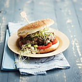 Veal and cumin burger