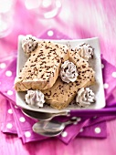 Coffee ice cream Parfait