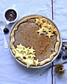 Chestnut cream pie