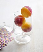 Mister Freeze melon-redcurrant small sorbet scoops