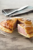 Meat and Riesling pie