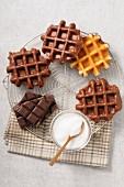 Chocolate wafles