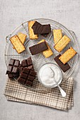 Chocolate rich tea biscuits
