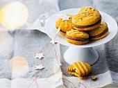 Chocolate-hazelnut whoopies
