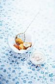 Krabben-Kroketten mit Senf