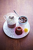 Gourmand dessert dish