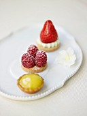 Tartlet trio