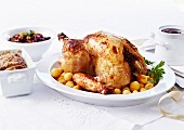Turkey stuffed with Madère and truffles