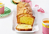 Pineapple loaf cake