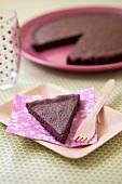 Truffle-style cake