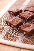 Dark chocolate and Brezilian nut brownies