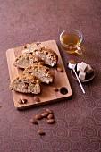 Mandel-Biscotti mit Olivenöl