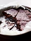 Gâteau au chocolat (Schokoladenkuchen, Frankreich)