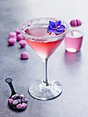 Tagada-Erdbeer-Cocktail