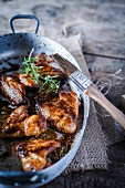 Glasierte Chicken Wings