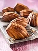 Almond-flavored Madeleines