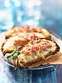 Alsation toasted open sandwich