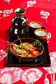 Tampopo shrimps