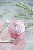 Girly cupcake