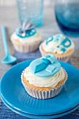 Boyish cupcakes