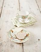 Plätzchen in Teekannenform