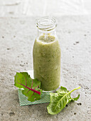 Chard and spinach smoothie