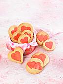 Love Cookies zum Valentinstag