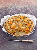 Apricot Oatmeal Cake