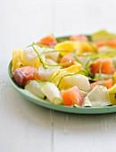 Fish duo salad