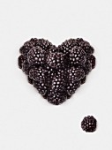 Blackberry heart