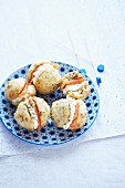 Swedish muesli whoopie pies