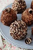 Schokoladenpralinen