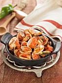 Littleneck clams à la marinière