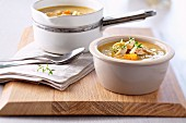 Chicken and Martinique banana soup
