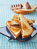Toblerone toasted sandwiches