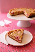 Strawberry-lemon lactose-free pie