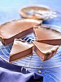 Chocolate and Carambar tart