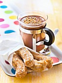 Hot chocolate and Churros