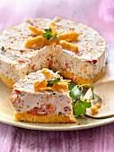 Schneller Cheesecake mit Knusperkeks, Frischkäse und Tomaten-Confit