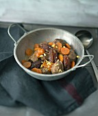 Turkey, carrot and date tajine