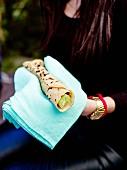 Oriental-style wrap